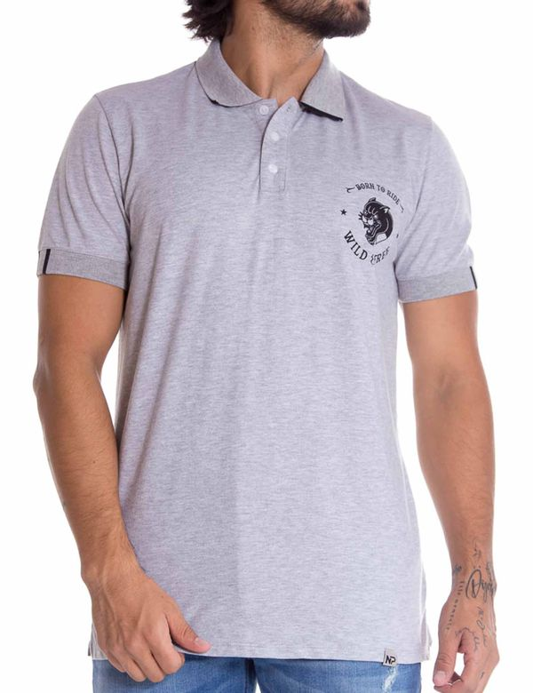 POLO-REGULAR-NEW-PROJECT-NM1101270N000-GRIS
