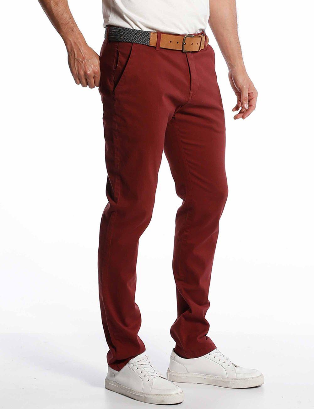 Pantalon Tela Hombre Chevignon En Sie7e Novomodecol