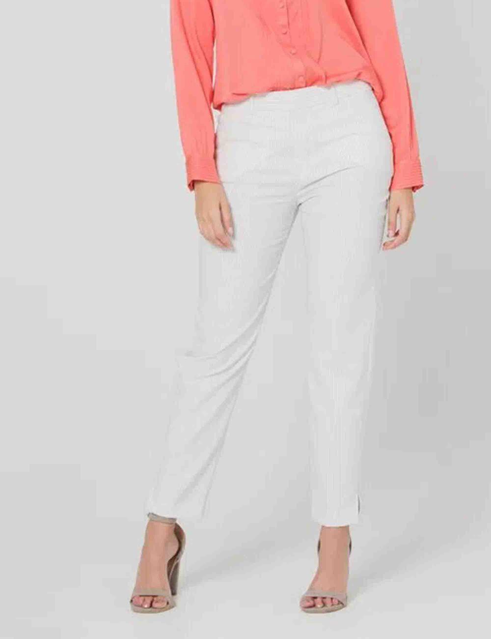 Pantalon Tela Mujer Esprit En Sie7e Novomodecol