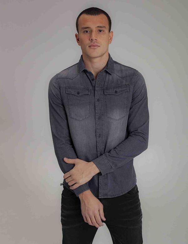 camisa-hombre-slim-americanino-511b002-negro