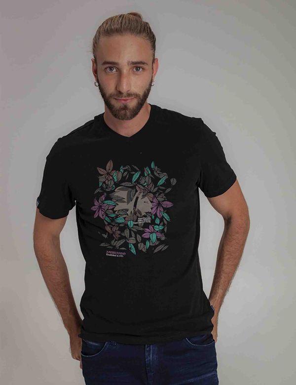 camiseta-hombre-classic-americanino-841b011-negro